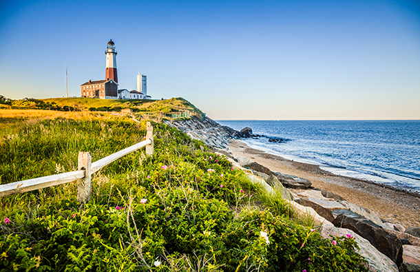 Montauk Lighthouse in East Hampton, New York