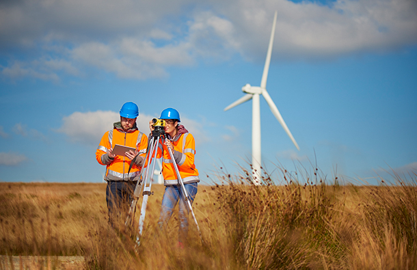 Wind energy jobs. Wind energy engineers.