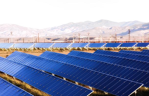 solar panels in brazil desert
