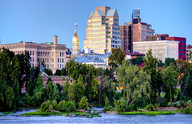 Image of the Trenton, the capital of New Jersey
