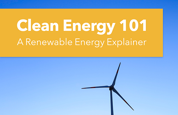 Clean Energy 101 Report Cover