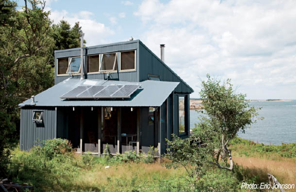 Build an off grid home cleanchoice energy for Building a house in maine